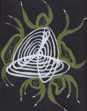 Plant-hand-spiral series 7