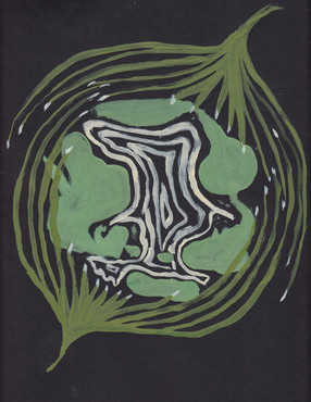 Plant-hand-spiral series 21