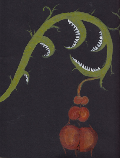 Plant-hand-spiral series 6