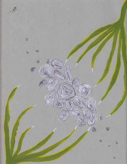 Plant-hand-spiral series 16