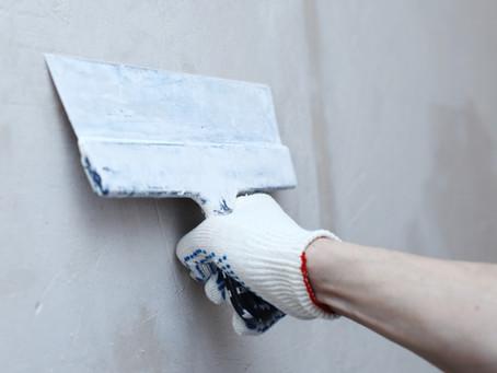 House Painting: Preparing Damaged Walls