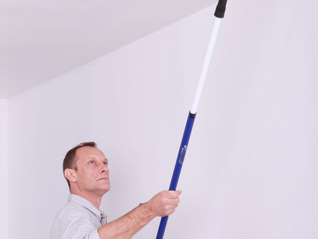 When It Comes to House Painting, Don't Forget to Look Up