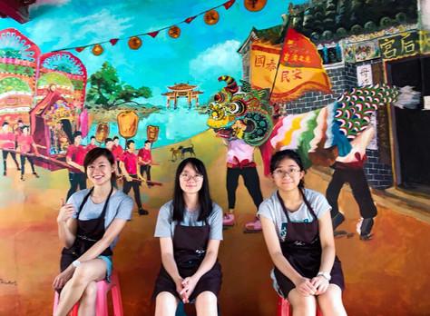 【香港地質公園】吉澳故事館壁畫創作