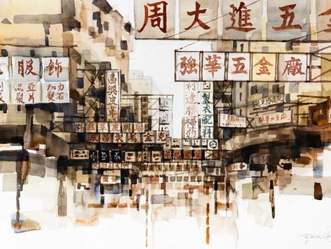#Storyteller:【城市畫家 Elaine Chiu】