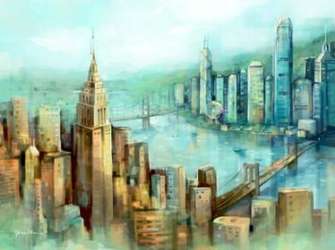 Hong Kong Meets America 2021 Calendar