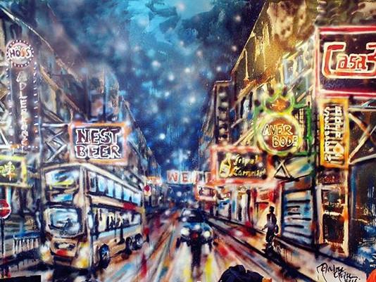 Mural Painting @Casa 338 Resturant