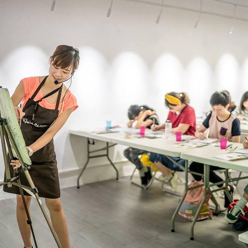 Urban Sketching Beginner Course 城市速寫課程初級 (六堂)
