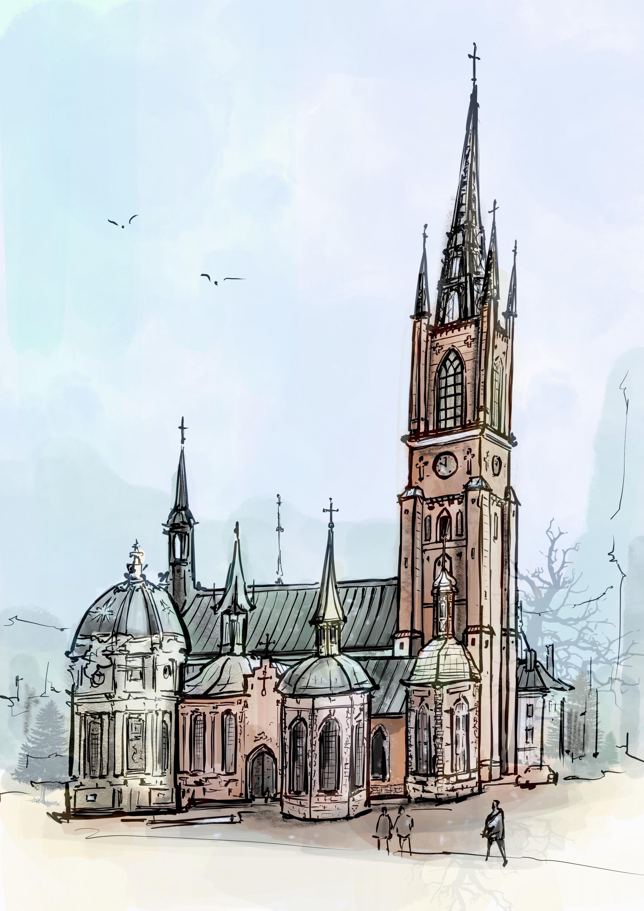 Riddarholmskyrkan 瑞典騎士教堂