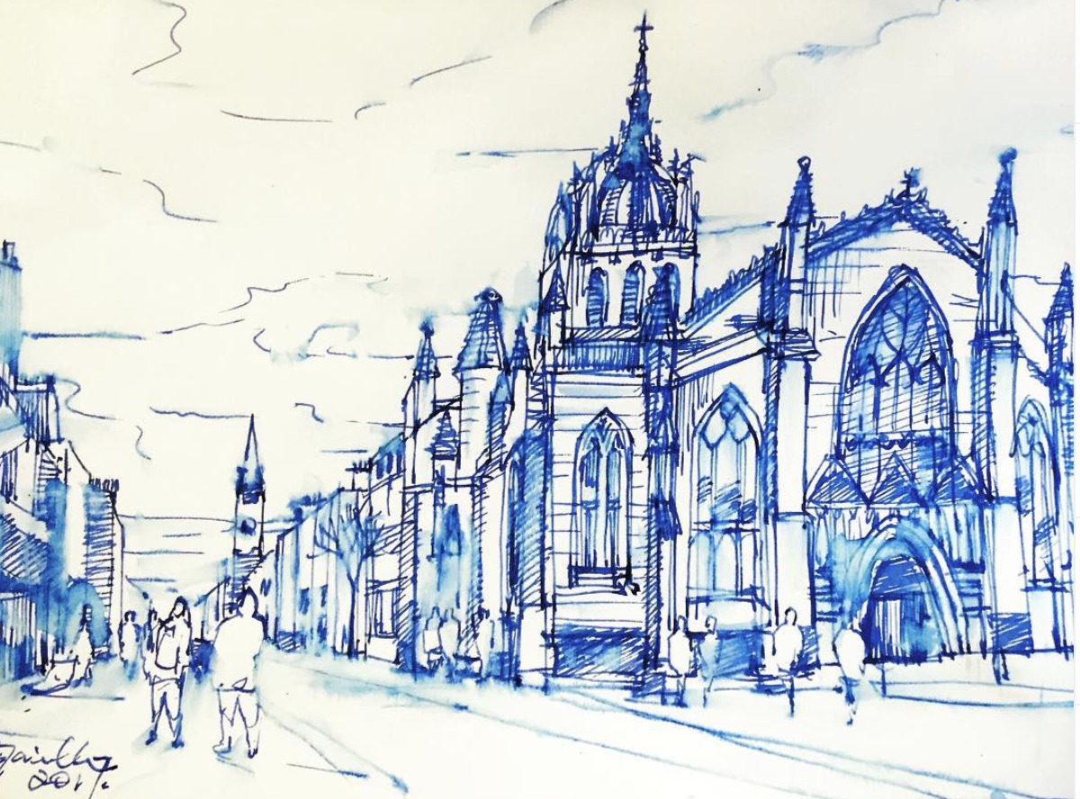 Edinburgh in Ink