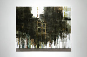 386 - 388 Lai Chi Kok Road 荔枝⾓道, 2021, Acrylic on canvas, 57 by 75 cm