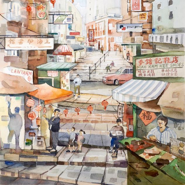 Pottinger Street 砵甸乍街