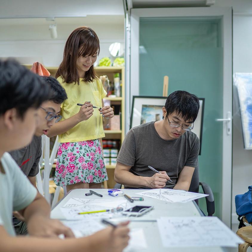 Urban Sketching Intermediate Course 城市速寫高階班