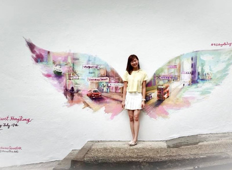 Victoria's Secret X Elaine Chiu - Angel Wings in PMQ