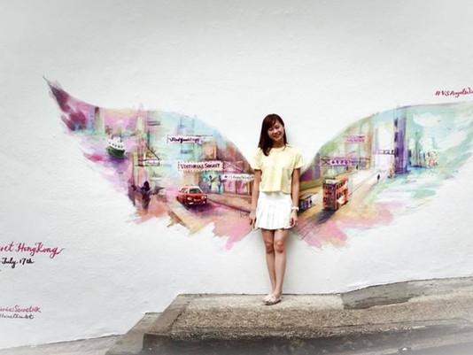 Victoria's Secret X Elaine Chiu - Angel Wings in PMQ