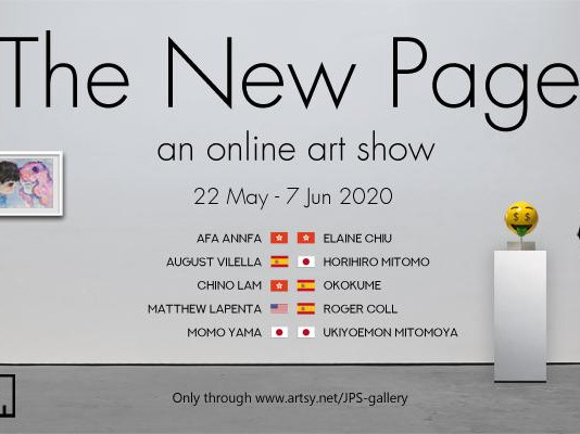 """The New Page"" an Online Art Show by JPS Gallery"