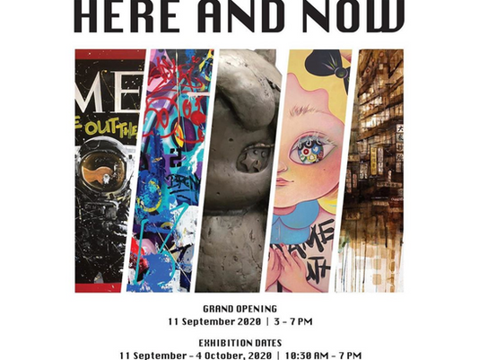HERE AND NOW: A Group Exhibition in Landmark