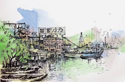 Lei Yue Mun Scenery 鯉魚門一景