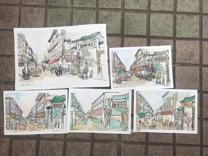 Ngau Chi Wan Sketching