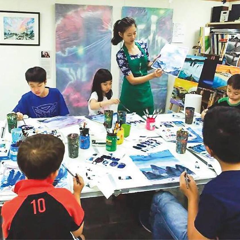 Children Summer Watercolor Course 2018
