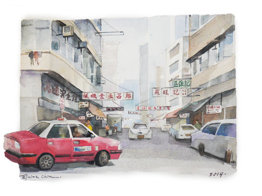 """""""Signs and the City"""" Elaine Chiu Solo Exhibition and Presentation at Eslite Bookstore 2019"""
