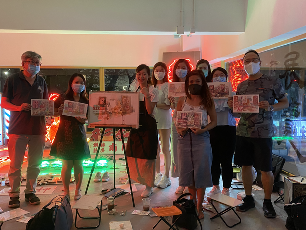 Neon Conservation Workshop with Streetsign.hk 2020