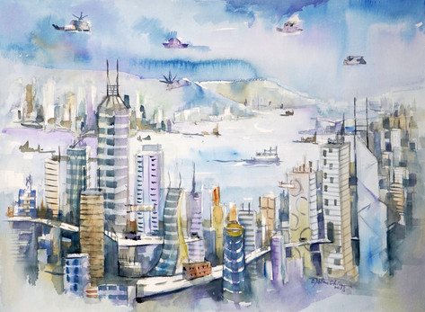 Hong Kong 2050: The Harbour