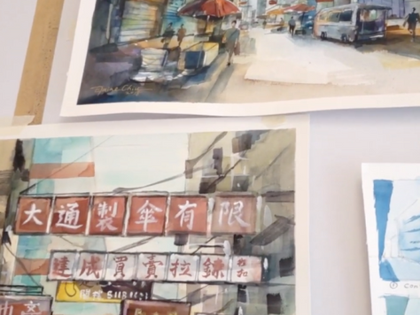 HK Artion: 與香港城市畫家對話 | A DIALOGUE WITH HONG KONG URBAN PAINTERS