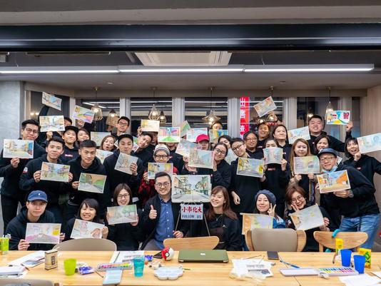 Nike Hong Kong Sketching Workshop