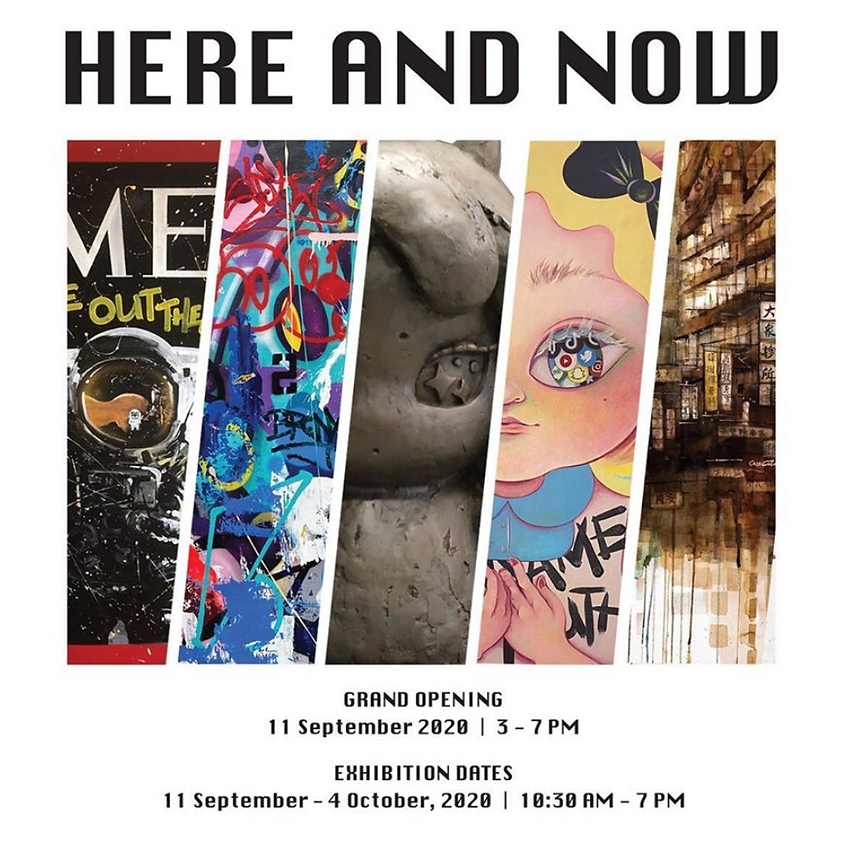 Here and Now: Group Exhibition Opening