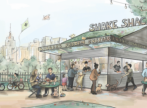 Shake Shack Madison Square, New York