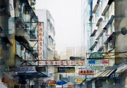The Geometry of Apliu Street 鴨寮街