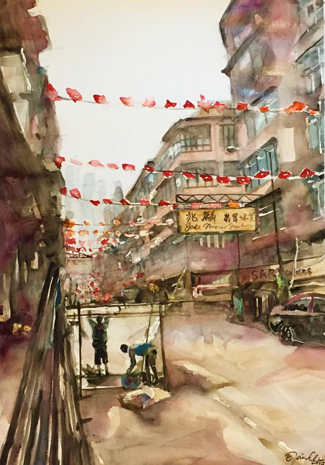 Temple Street during the Day 日間的廟街