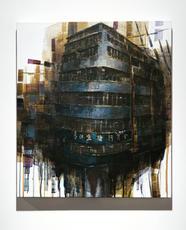 1 - 15 Smithfield ⼠美非路, 2021,Acrylic on canvas, 62.5 by 54.5 cm