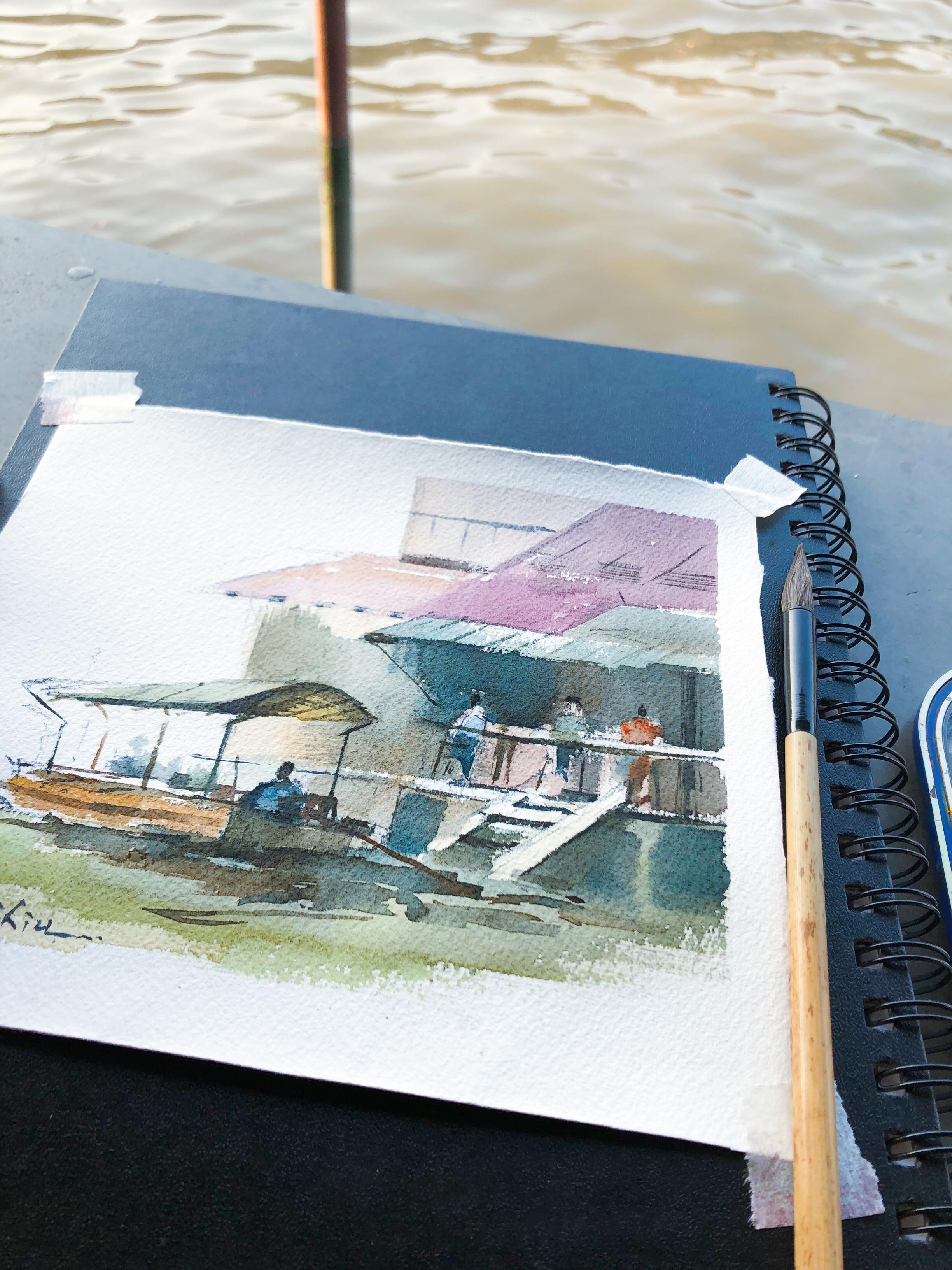 Amphara Floating Markert Bangkok