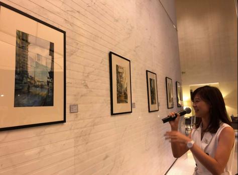 Le Meridien Hotel X Geneyclee Gallery X Elaine Chiu