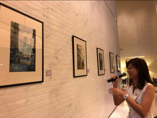 A self-portrait of Hong Kong - A new perspective by Elaine Chiu Umami Art Exhibition 2018