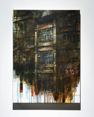 170 Yee Kuk Street 醫局街170號, 2021,Acrylic on canvas, 57.2 by 41.2 cm