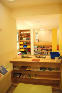 מבט לכיוון פינת ספריה ודופלו