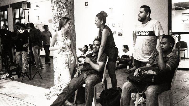 Die Wahl der schönsten Frau der Kunstuni in Cartagena