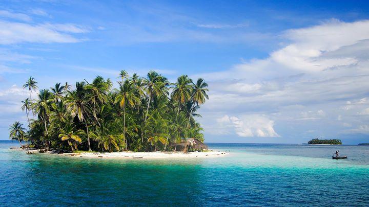 Urlaubsstart auf den San Blas Islands vor Panama