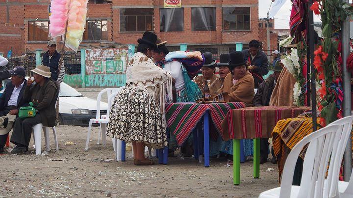 Hochzeit in La Paz