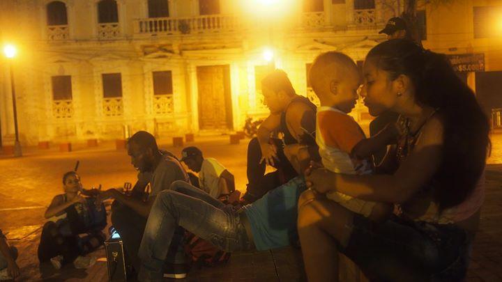 Danceperformance auf den Straßen