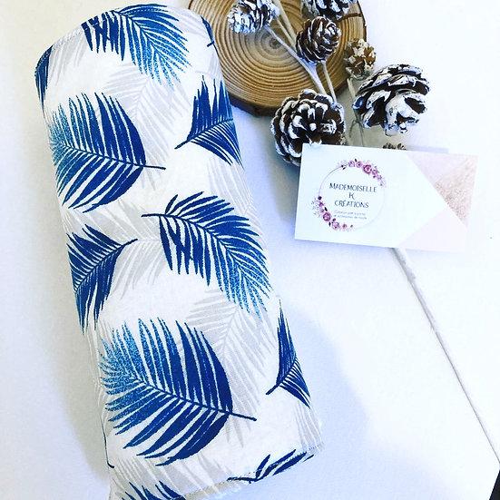 Rouleau de 6 feuilles essuie-tout imprimé feuilles de Palmier