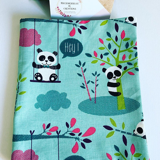 Cahier de coloriage lavable en tissu