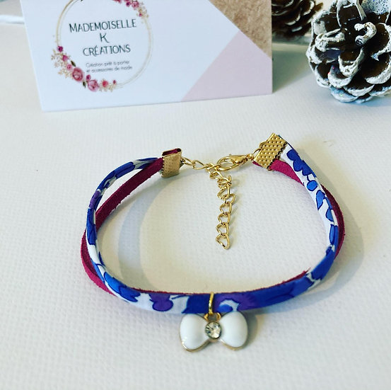 Bracelet Liberty Betsy bleu lavande