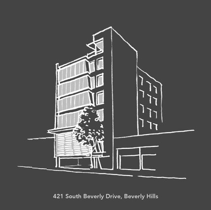 Creative Office Space Conversion ~ 2001 City of Beverly Hills ARCHITECTURAL AWARD