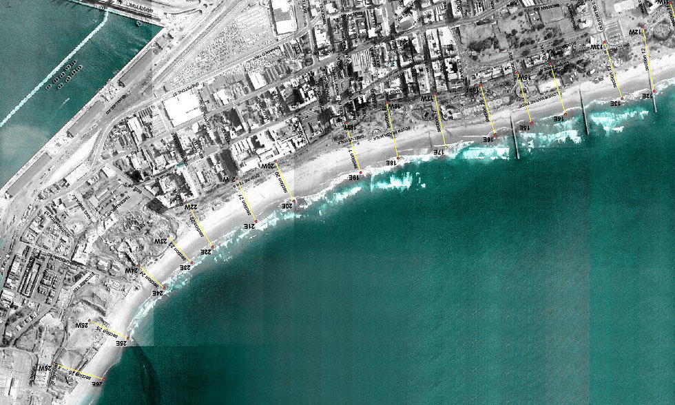 An urban design study to understand the potential development capacity of the land between the Marine Parade and the existing erosion line in advance of the 2010 Beachfront upgrade programme by SOUNDSPACEDESIGN Architects Sydney.