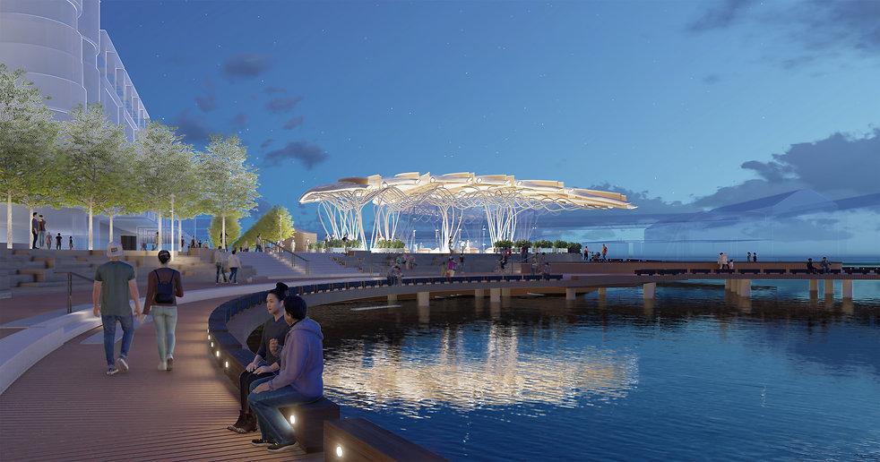 Barangarro Pavilion Architects Sydney 2.