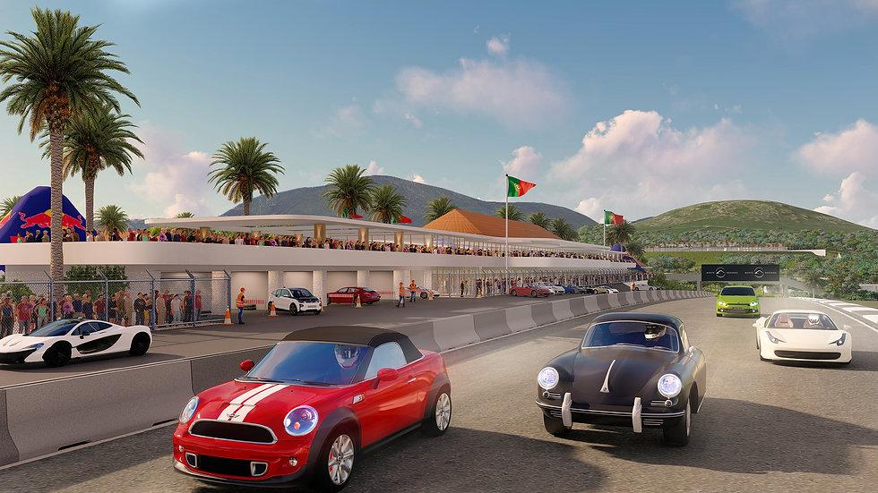 Monte Redondo Racetrack Architect Sydney
