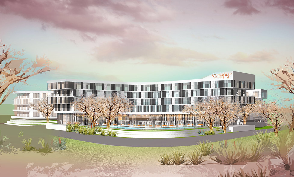 Apart-Hotel serviced apartments hotel feasibilty design Sandton South Africa by SOUNDSPACEDESIGN Architects Sydney